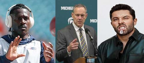 Cityballers Podcast show:  AB, Baker Mayfield, Coach Mark Dantonio in the News!